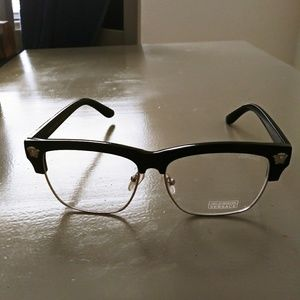 Versace clear 100% UV protected glasses